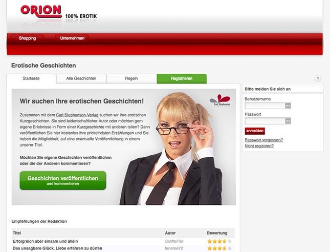 Orion-Geschichten.de