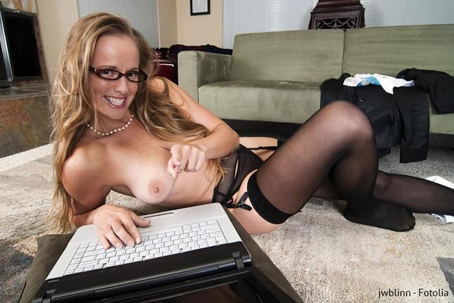 Auf Sexdating Seiten findet man viele MILFs