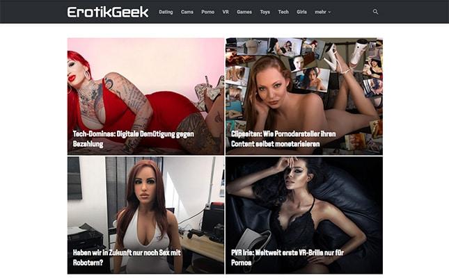 ErotikGeek.com Startseite