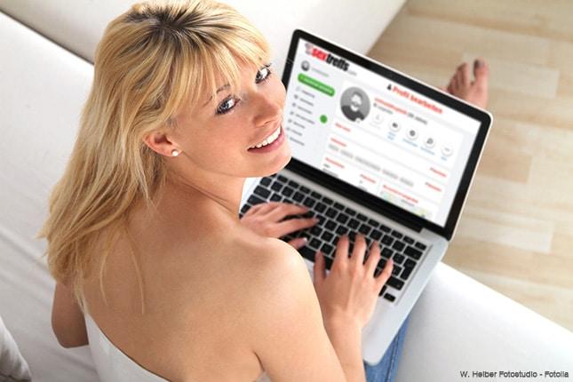 Frau sucht Erotik Kontakte auf einer Sexbörse