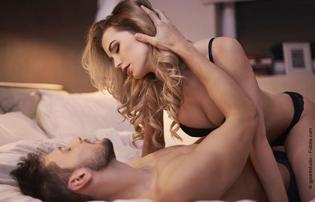 Paar beim Sextreffen