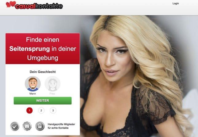 Casualkontakte lockere Seitensprungkontakte aus deiner Nähe