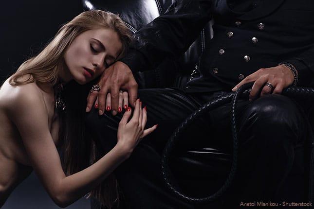 Fetisch-Paar bei einer Bondage Session