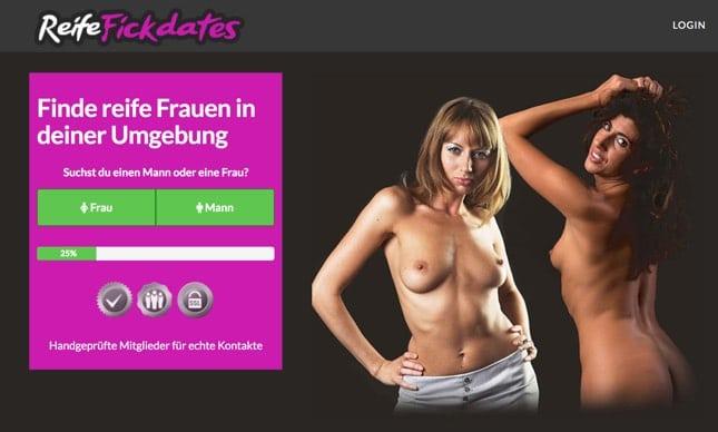 ReifeFickdates.com - Reife Frauen wollen ficken