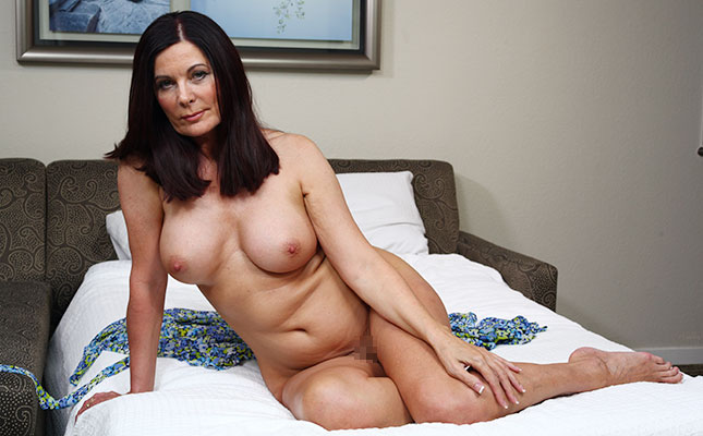 ältere Frau beim Sexdate