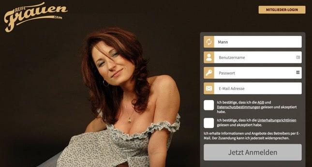 ReifeFrauen.com Sexkontakte zu reifen Frauen in deiner Nähe