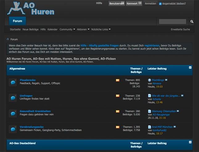 AO-Huren Forum