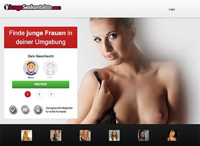 JungeSexkontakte.com Startseite
