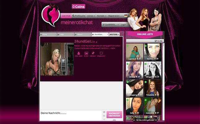 MeinErotikChat.com Startseite