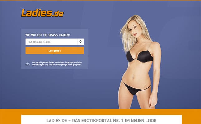 Paysex Anzeigen auf Ladies.de