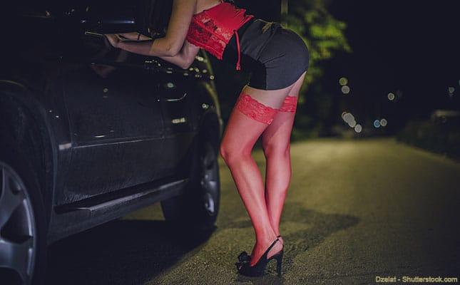 Prostituierte auf dem Strassenstrich