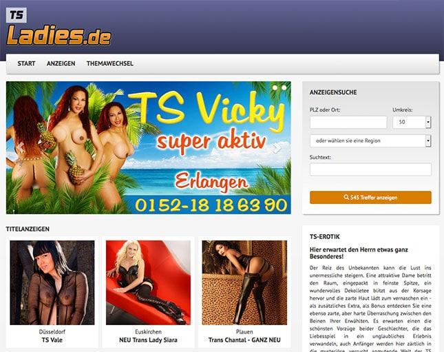 TSLadies.de Portal