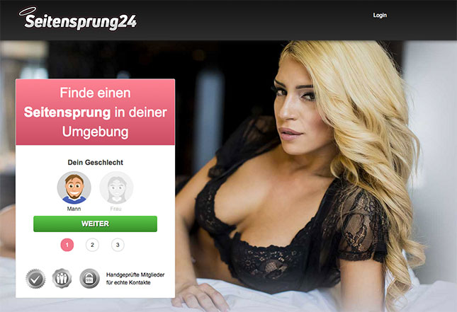 Seitensprung24.com Portal