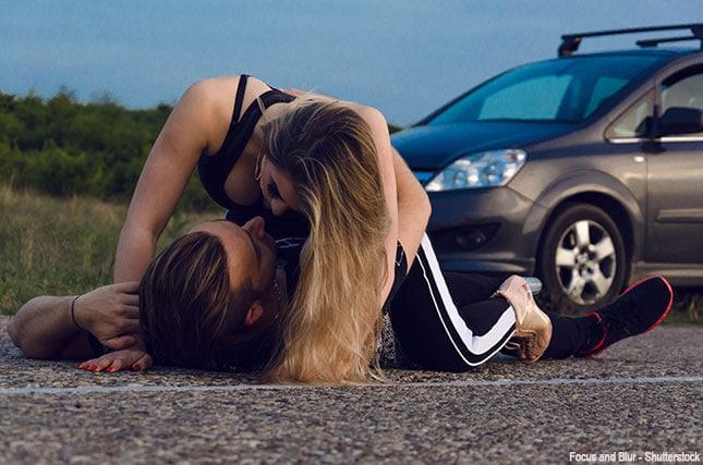 Sex am Autobahn Rastplatz