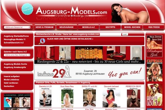 augsburg-models.com Portal