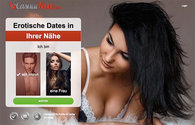 CasualFever.com Erotik Dating Seite
