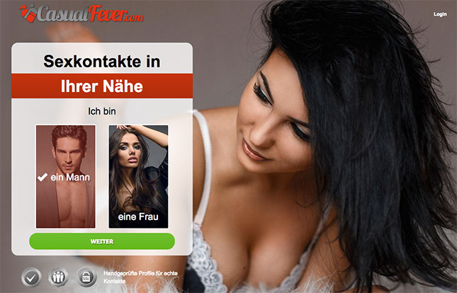 CasualFever.com Sex-Kontakte-Portal