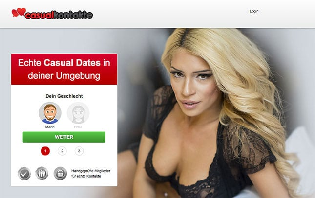 CasualKontakte.com ist eine ähnliche Seite wie C-Date.de