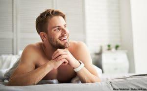 Mann verzichtet auf Selbstbefriedigung