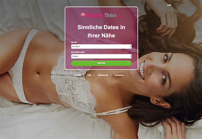 SinnlicheDates.com Portal