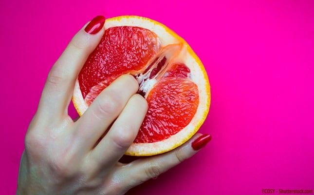 Vagina einer Frau fingern