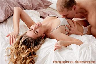 Der Bauch von Frauen ist eine erotische Zone