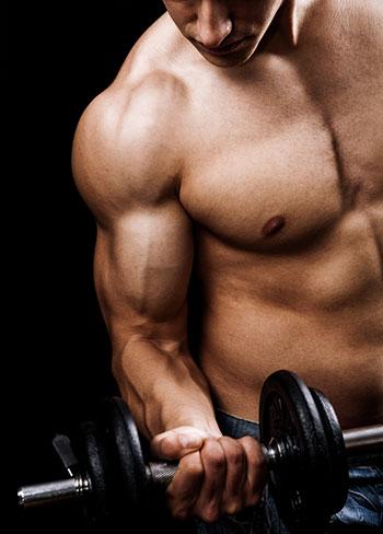 Sport steigert die Manneskraft