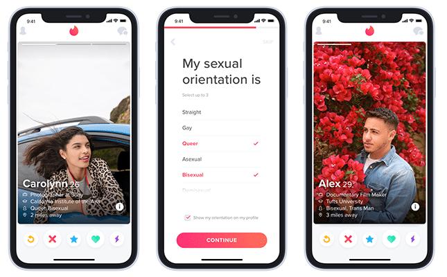 Tinder sexuelle Orientierung