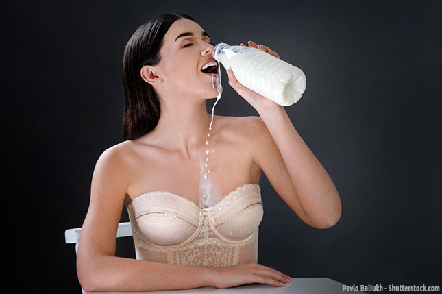 viel Sperma spritzen