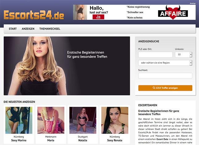 Escorts24.de Startseite