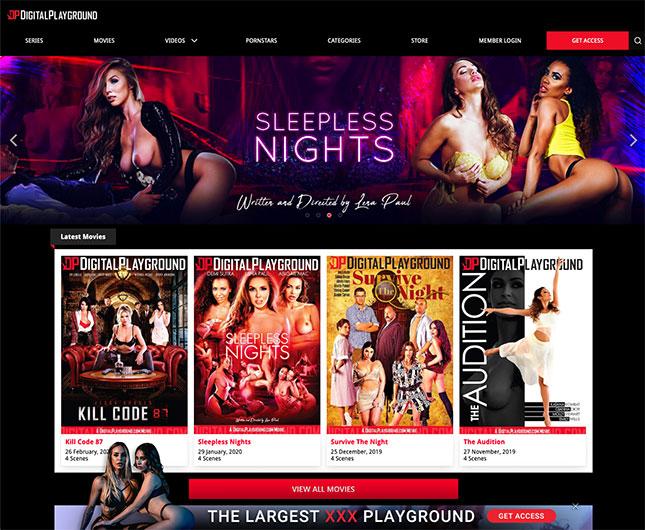 DigitalPlayground Premium-Erotik-Seite
