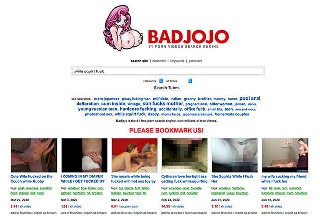 Badjojo Porn Finder