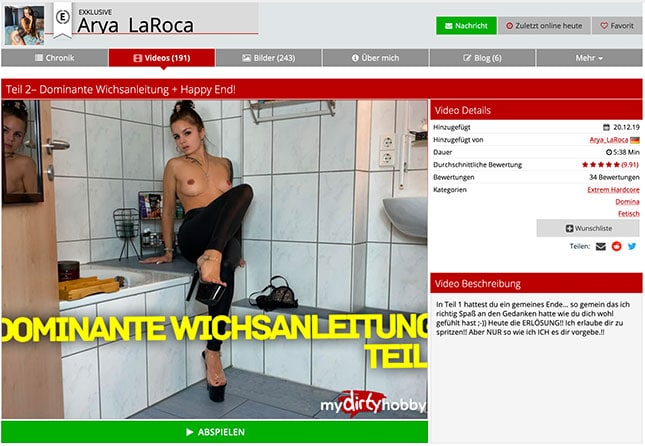 Arya LaRoca MDH-Porno-Video