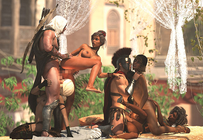 Assassins Seed Orgie Porn Game