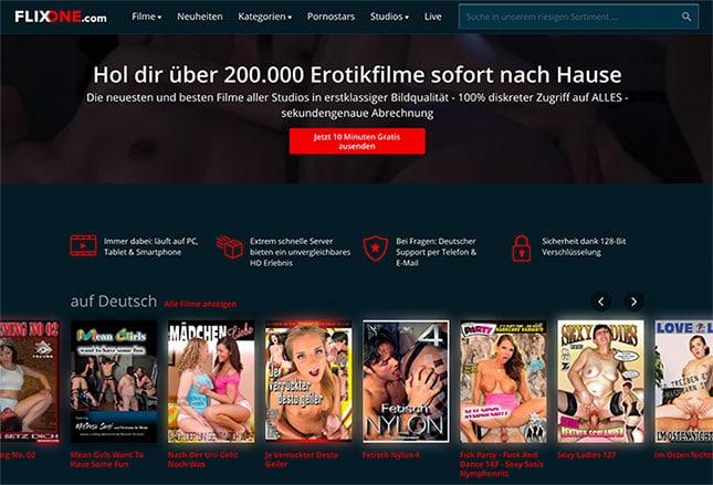 FlixOne.com Porno-Videothek