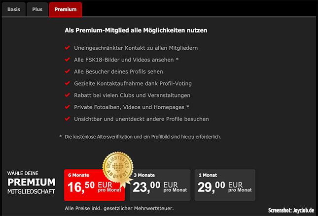 Joyclub Premium Account