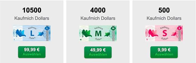 Kaufmich-Dollars