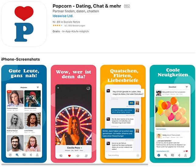 Popcorn - die Poppen App