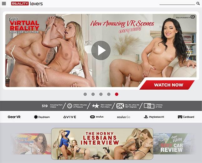 RealityLovers.com VR Porn Site