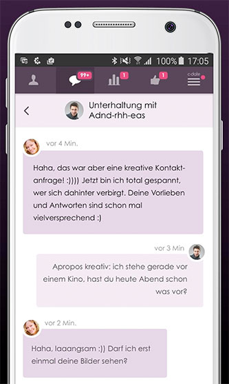 C-Date App Chat