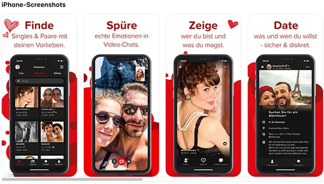 Joyce Casual-Dating-App-iPhone