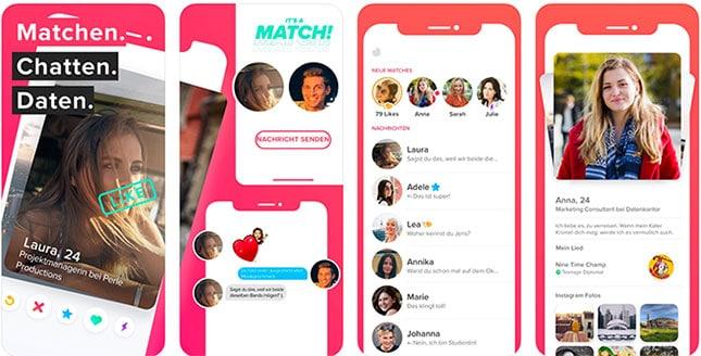 Tinder ist bekannt als ONS-App