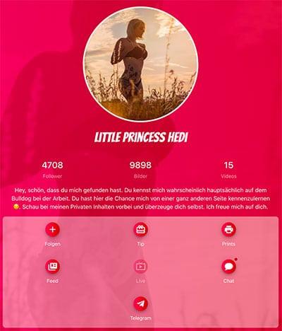 Little Princess Hedi Profil-Fanseven